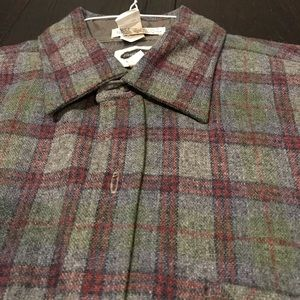 VINTAGE THICK WOOL FLANNEL